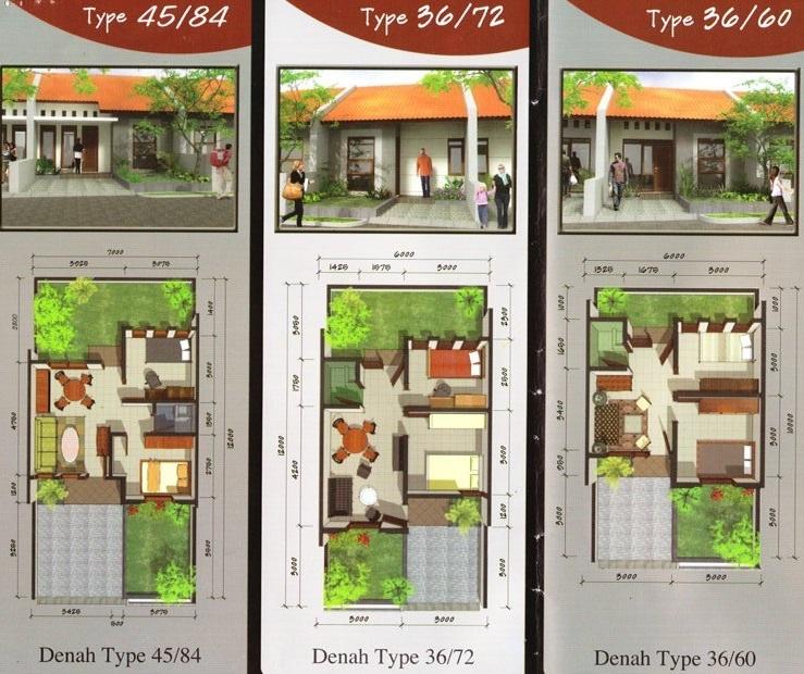 Desai Tipe 36 45 Info Perumahan Bandung