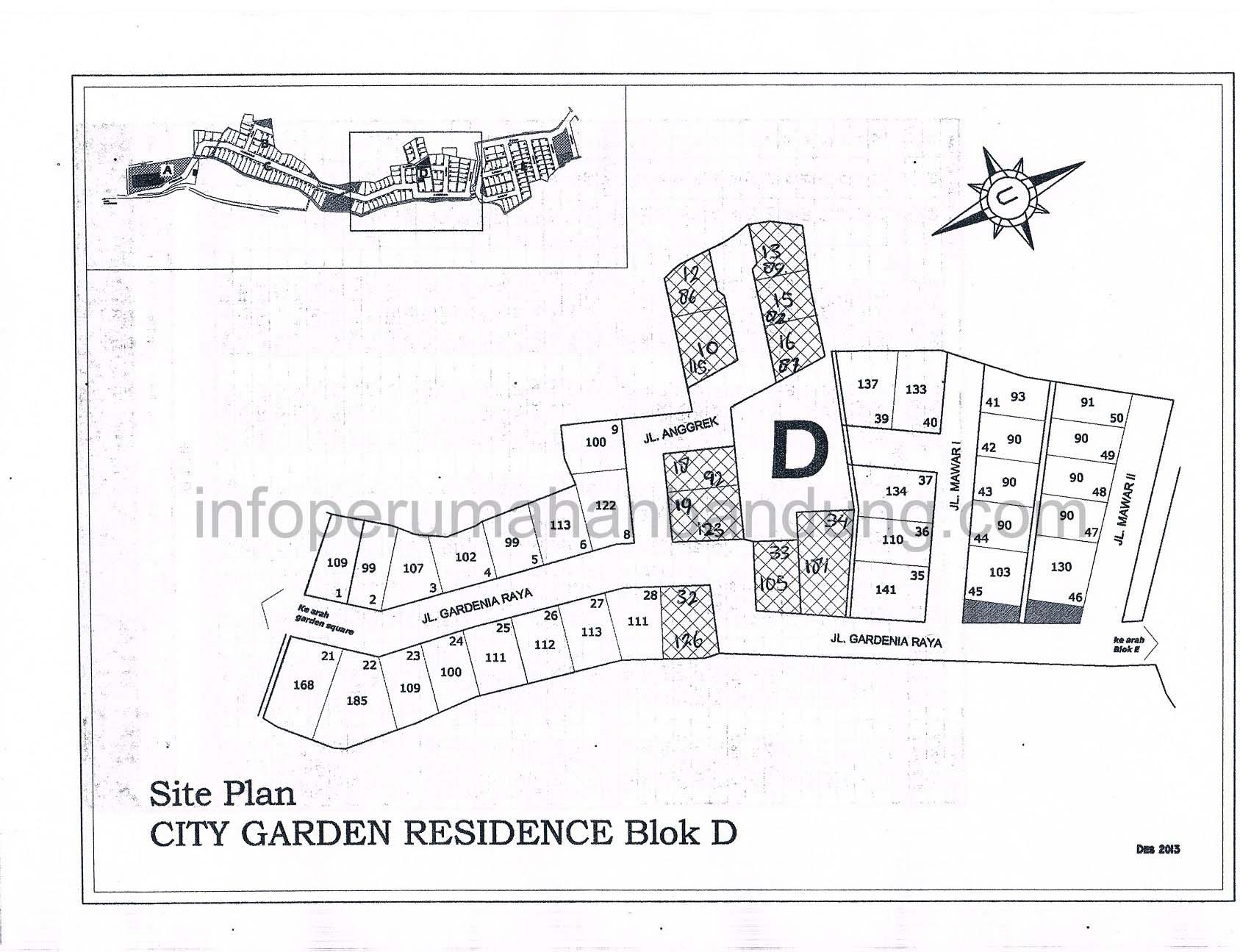 cul de sac info perumahan bandung. Black Bedroom Furniture Sets. Home Design Ideas