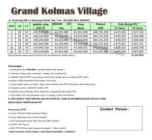 Gkolmas village