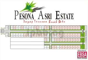 Site Plan Pesona Asri Estate