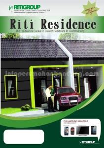 brosur depan riti residence
