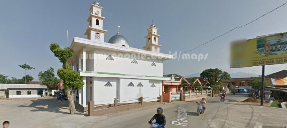 masjid depan komplek rancamanyar indah
