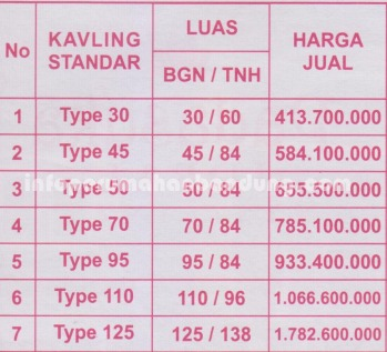 price list copy
