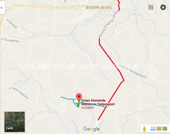 peta Green alamanda residence copy