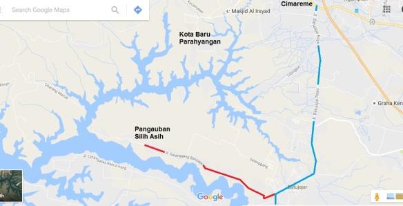 peta Pangauban
