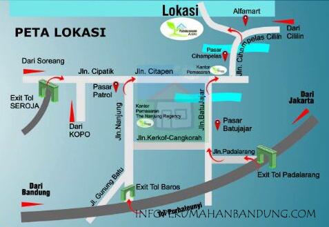 PetaLokasi_ParahyanganAsri copy