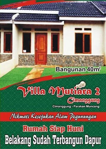 brosurDepan_VillaMutiara2_Cimanggung