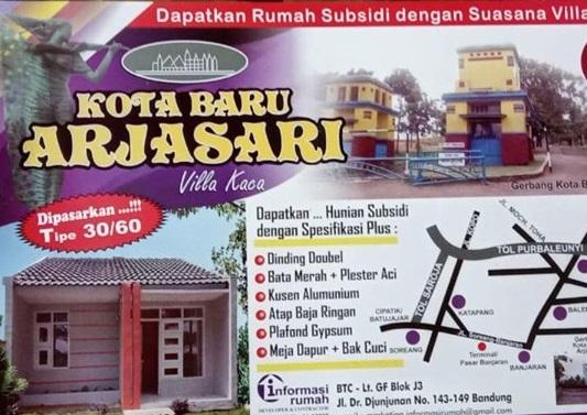 Brosur_perumahan murah bandung_KotaBaruArjasari