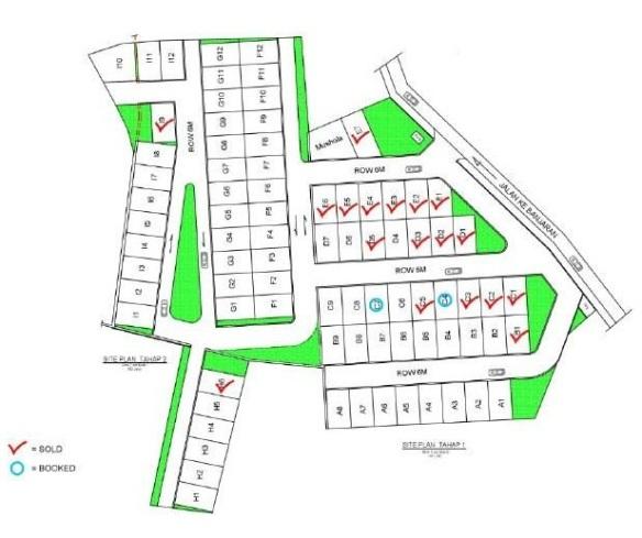 SitePlan_perumahan di ciparay_BumiGiriwangi