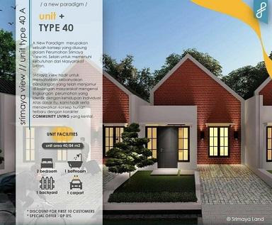 DesainTipe40A_Perumahan di Padalarang_SrimayaViewPadalarang