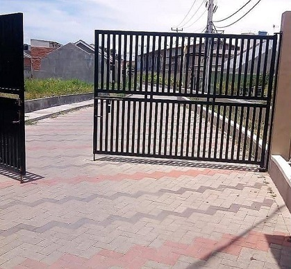 Gate_perumahan di bandung_griyaPatarumanAsri