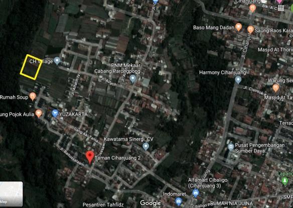 Maps_Kavling di Bandung_KavlingWitarsa
