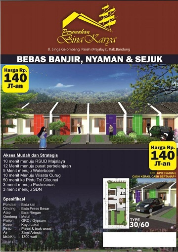 Brosur_perumahan di bandung_BinakaryaMajalaya