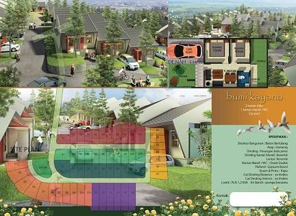 brosurSitePlan_perumahan di bandung_BumiKayana