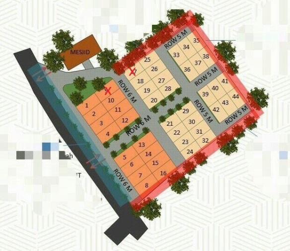 SitePlan_Developer Syariah di Bandung_KendanVillage_UpdateDesember19