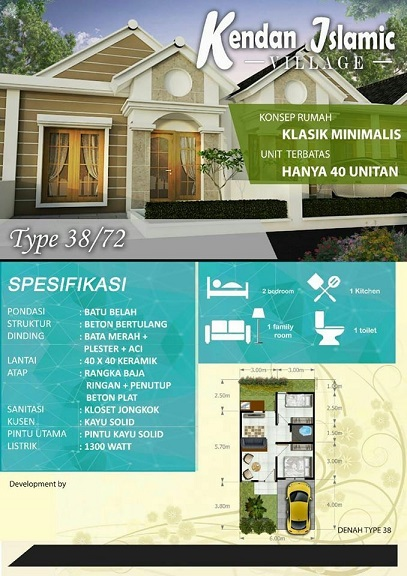 Tipe38_72_Developer Syariah di Bandung_KendanVillage_UpdateDesember19