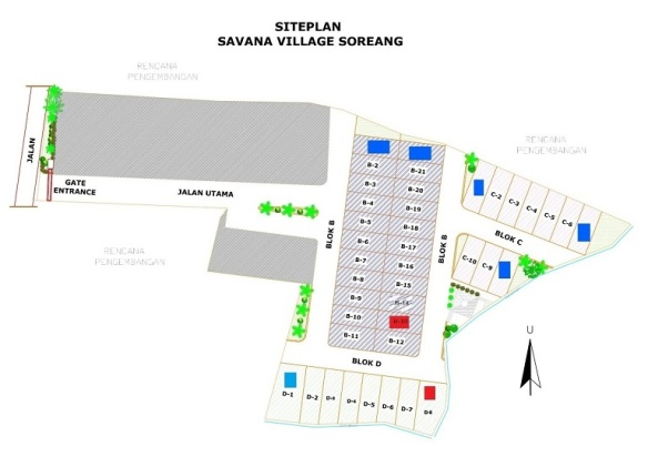 SitePlan_developer syariah di bandung_SavanaVillageSoreang