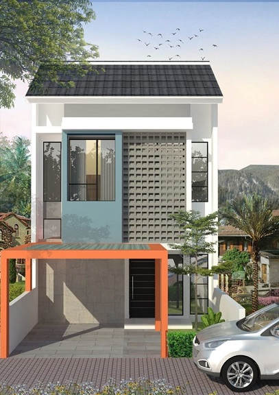Desain Butik Buah Batu Perumahan di Bandung