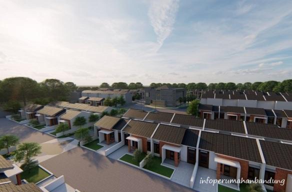 Desain Site Plan Perumahan di Bandung Sharia Islamic Soreang