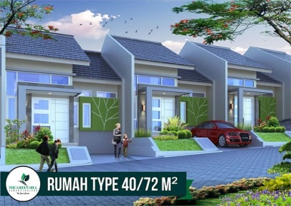 Desain Tipe 40 Perumahan di Bandung The Green Hill Taman siBolang