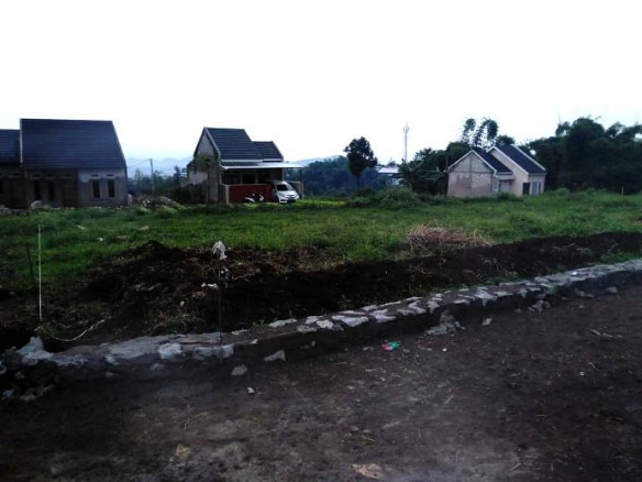 Progres Banngun Perumahan di Bandung Kavling Witarsa