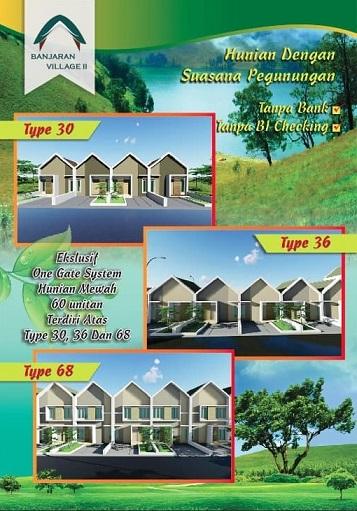 Brosur 2 Perumahan di Bandung Banjaran Village 2