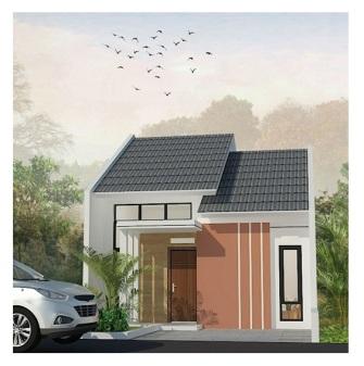 Desain 1 Lantai The Great House Cimahi Perumahan di Bandung