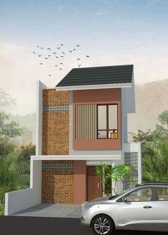 Desain 2 Lantai The Great House Cimahi Perumahan di Bandung
