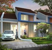 Desain 2 Ruangan Perumahan di Bandung Bumi Cipagalo Asri