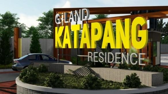 Desain Gate G Land Katapang Residence Perumahan di Bandung