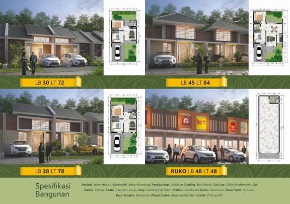 Desain Perumahan di Bandung Royal Orchid Villa Ciwidey