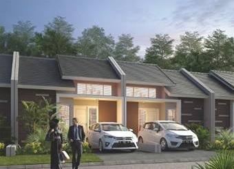 Desain Tipe Bilal Perumahan di Bandung Royal Orchid Villa Ciwidey