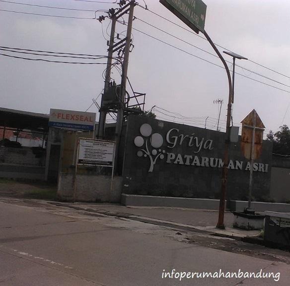 Gate Perumahan di Bandung Griya Pataruman Asri
