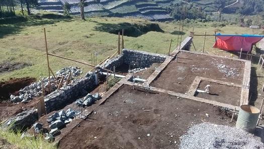 Progres di Bandung Lembah Cempaka Village