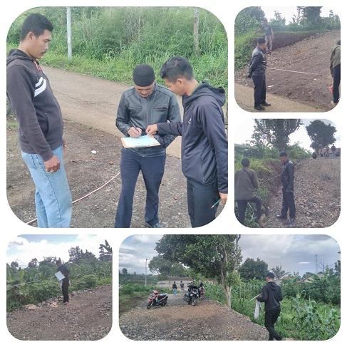 Progres Lahan Ukur BPN Kavling di Bandung Cipageran Villas