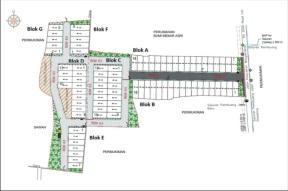 Site Plan Perumahan Bandung Mekar Sari Asri