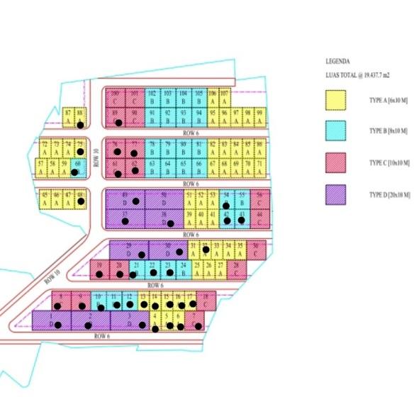 Site Plan Perumahan di Bandung Al Farez Residence 5