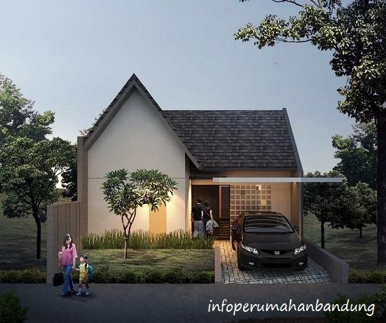 Desain Bangunan Perumahan di Bandung Jatihandap House