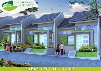 Desain Tipe 36_72 The Green Hill Taman si Bolang Perumahan di Bandung
