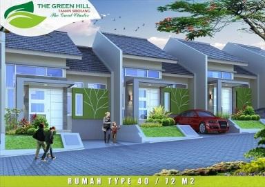 Desain Tipe 40_72 The Green Hill Taman si Bolang Perumahan di Bandung