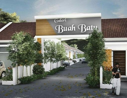 Gate Galeri Buah Batu Perumahan di Bandung