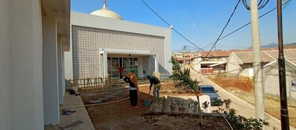 Masjid pesona bukit bintang perumahan di bandung
