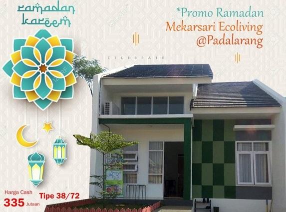 Promo Cash Mekarsari Eco Living Perumahan di Bandung