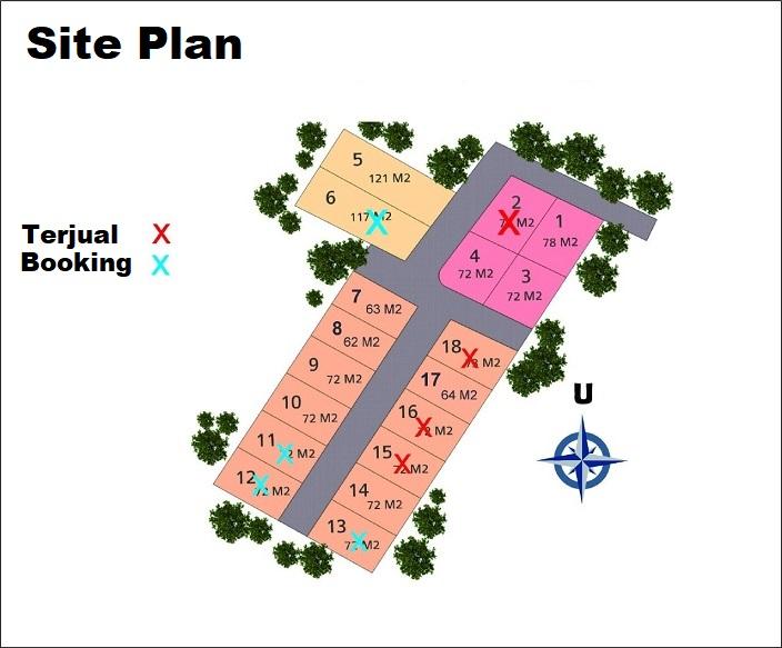 Sit Plan The Great House Cimahi Perumahan di Bandung