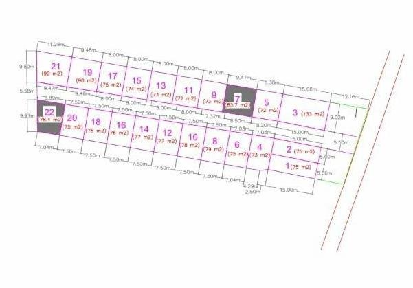 Site Plan Galeri Buah Batu Perumahan di Bandung