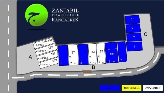 Site Plan Zanjabil TH Rancaekek Perumahan di Bandung